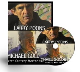 Larry Poons-Michael Goldberg-Master Artists DVD
